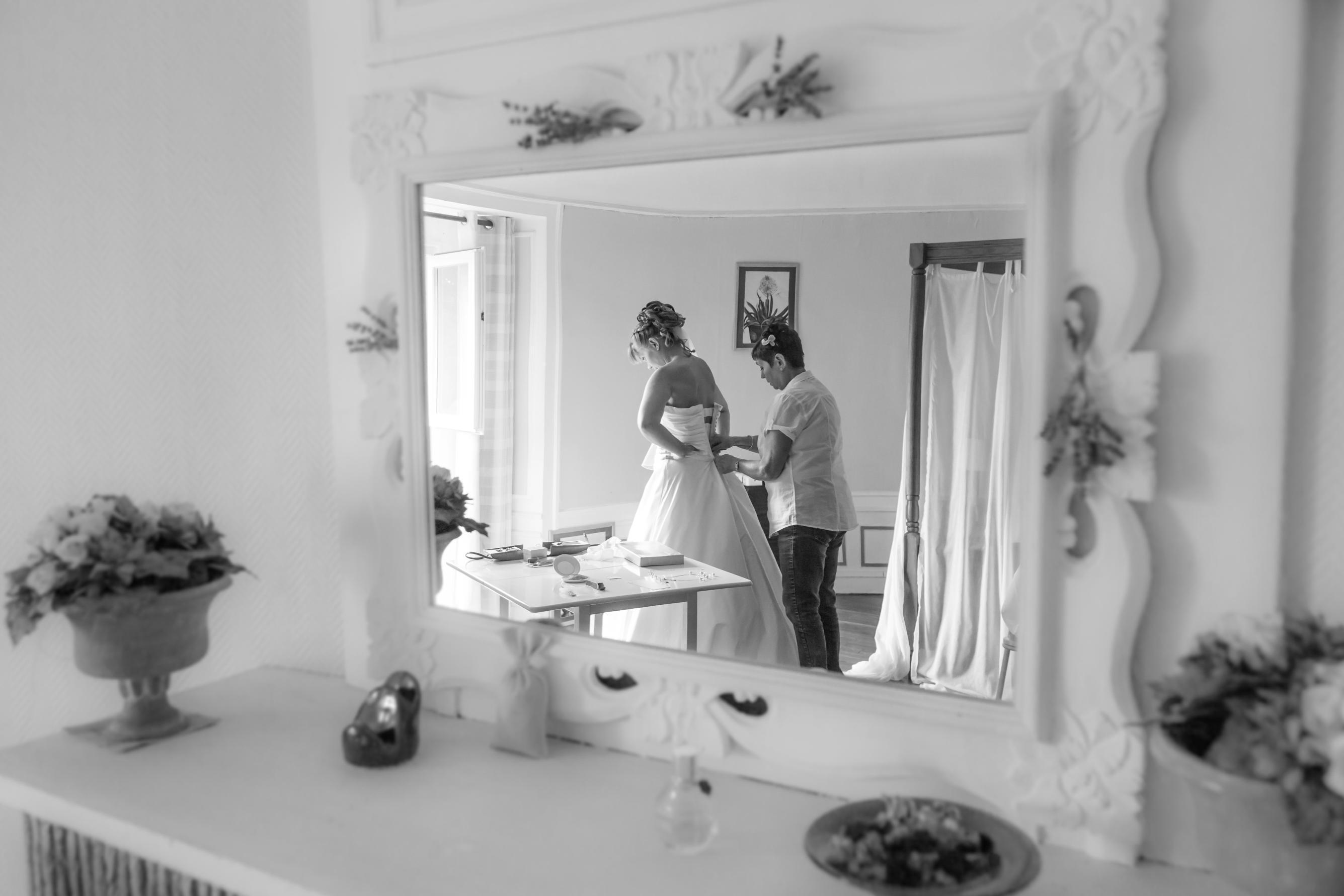 Préparatifs mariage Normandie