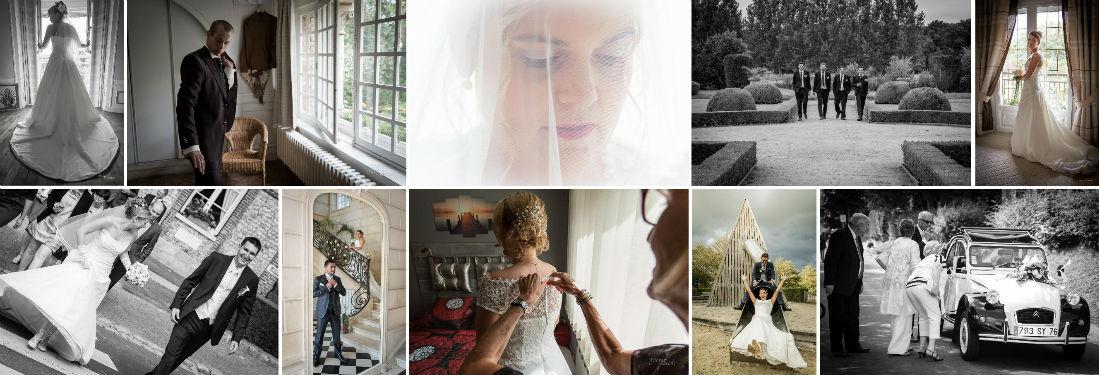 Photographe mariage Normandie Rouen Le Havre Deauville Yvetot photoreportage france entière